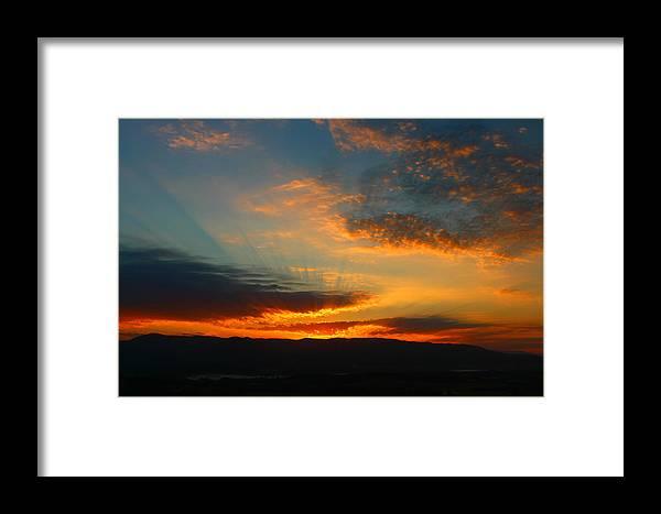Australia Framed Print featuring the photograph Australian Sunrise by Clark Kopelman