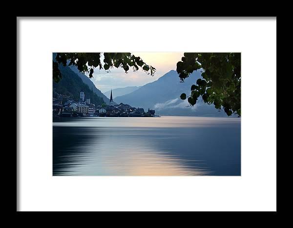 Scenic Framed Print featuring the photograph Austria Hallstatt by Stockr