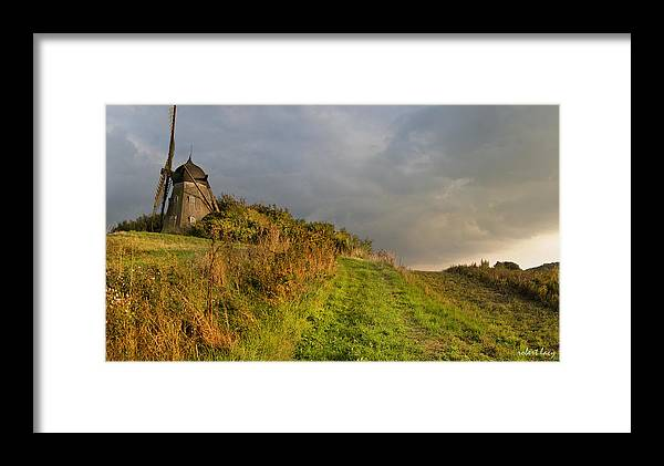 Mill Framed Print featuring the photograph Autumn At The Erholm Mill by Robert Lacy