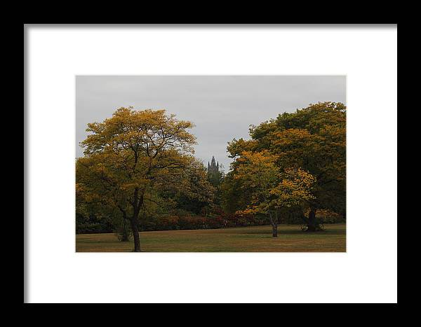 Autumn Framed Print featuring the photograph Autumn Field by Ed Pearson