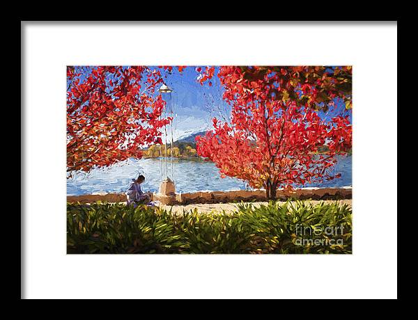 Autumn Framed Print featuring the photograph Autumn in Canberra by Sheila Smart Fine Art Photography