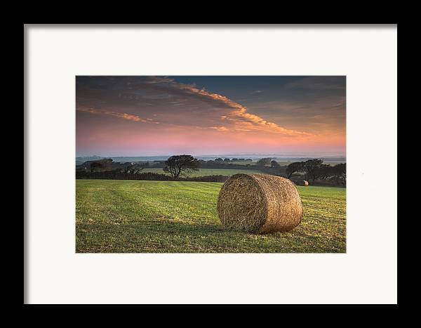 Landscape Framed Print featuring the photograph Autumn In Cornwall by Christine Smart