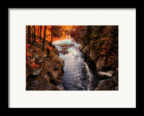 Paris Framed Print featuring the photograph Autumn In West Paris by Bob Orsillo