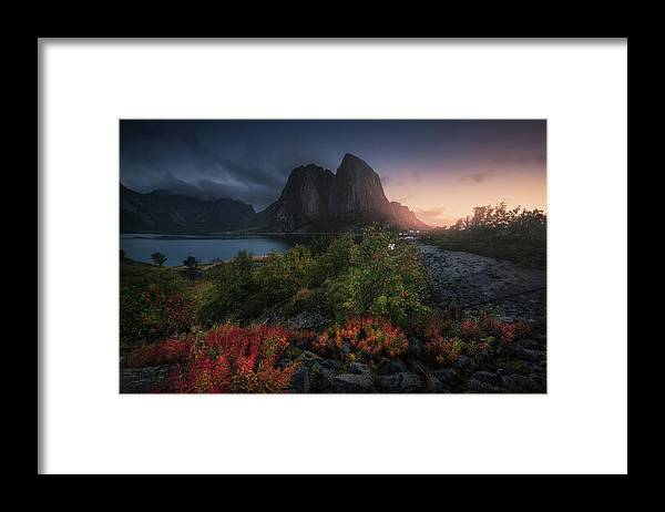 Norway Framed Print featuring the photograph Autumn Is Coming by Carlos F. Turienzo