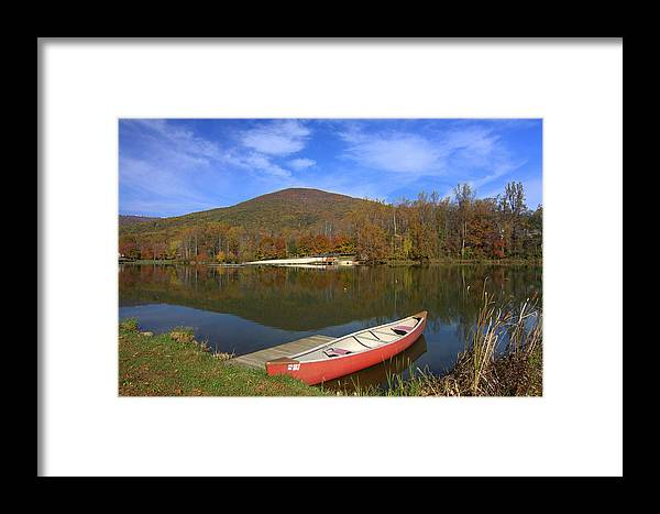 Framed Print featuring the photograph Autumn Morning by Anne Barkley