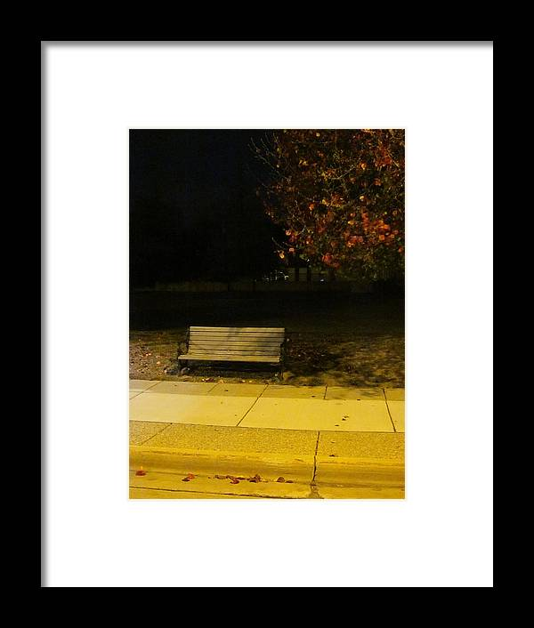 Guy Ricketts Photography And Art Framed Print featuring the photograph Autumn's Nocturnal Solace by Guy Ricketts
