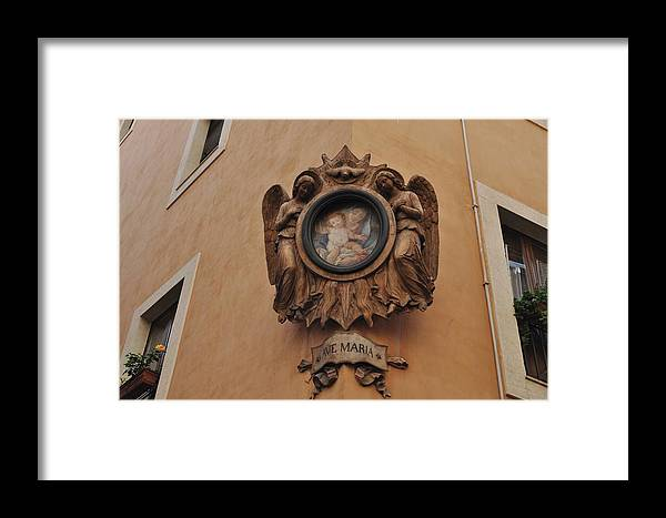 Maria Framed Print featuring the photograph Ave Maria by Ted Bessler