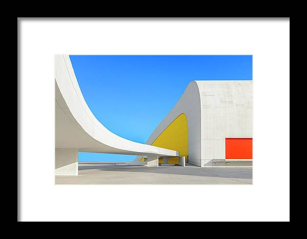 Architecture Framed Print featuring the photograph Avila?s by Xavier Garci