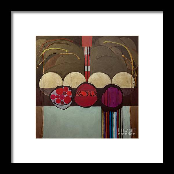 Jewish Framed Print featuring the painting Avot V'imahot by Marlene Burns