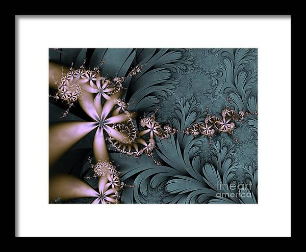 Awake The Day Framed Print featuring the digital art Awake The Day by Kimberly Hansen
