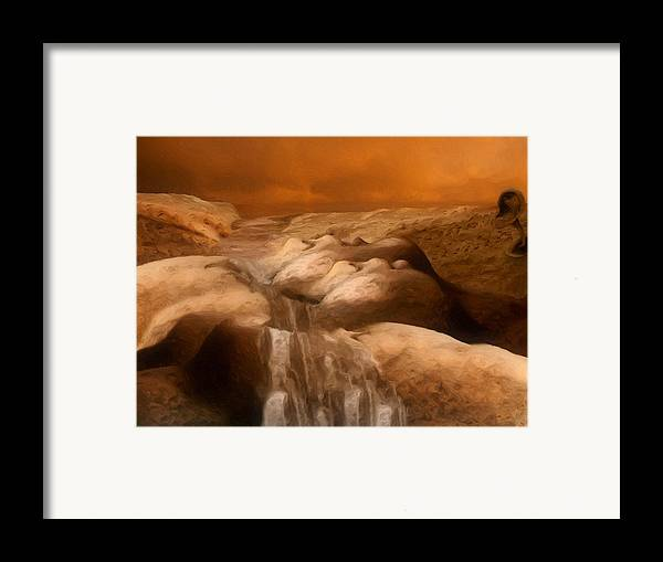 Dream Framed Print featuring the painting Awaken by Jack Zulli