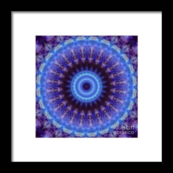 Mandala Framed Print featuring the photograph Awakened Mind by Denise Nickey