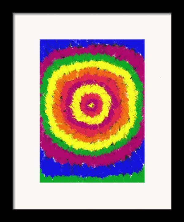 Daina Framed Print featuring the painting Awakening by Daina White