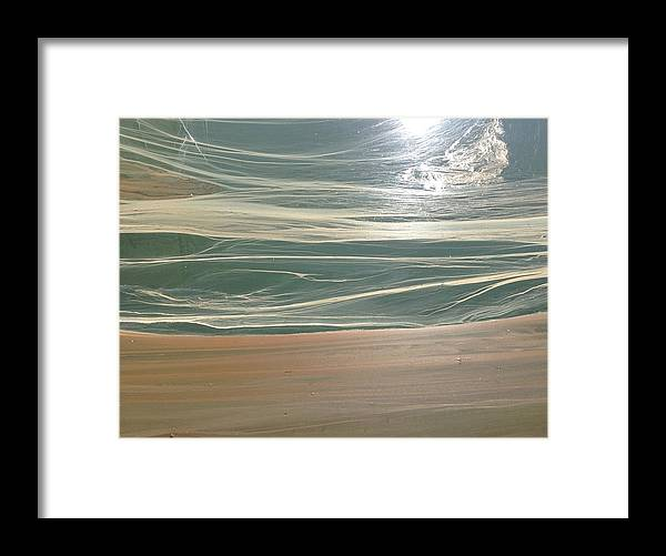 Sea Framed Print featuring the photograph Awakening Sea by Michelle Milne-jones