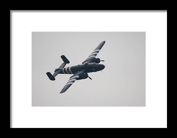 B-25 Framed Print featuring the photograph B-25 Mitchell by Todd Elliott