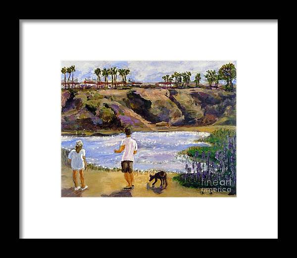 California Framed Print featuring the painting Back Bay Quick Draw Day 2 by Randy Sprout