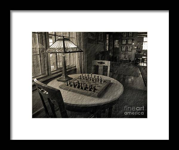 Chess Framed Print featuring the photograph Back In Time by Arlene Carmel