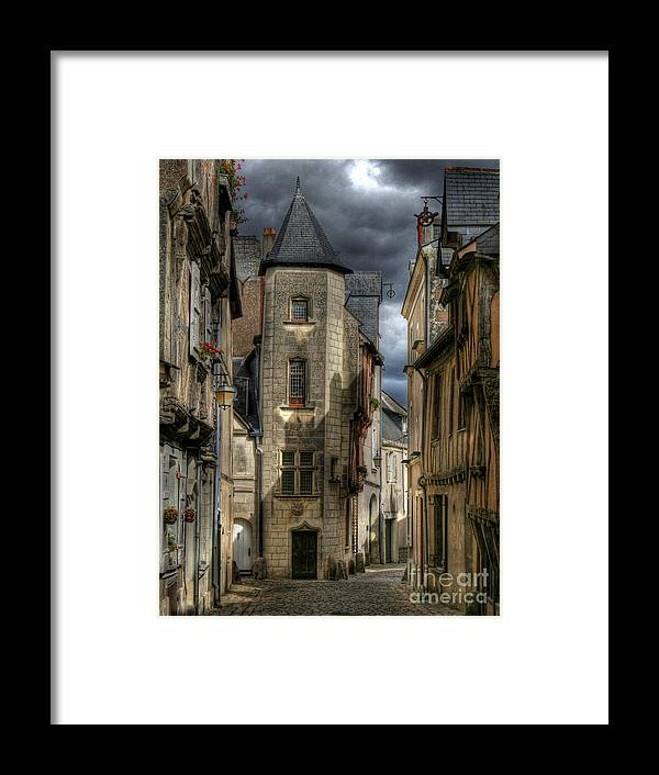 Street Framed Print featuring the photograph Back In Times by Loic GIRAUD
