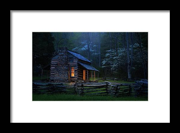 Cabin Framed Print featuring the photograph Back To Good Old Days by J&w Photography
