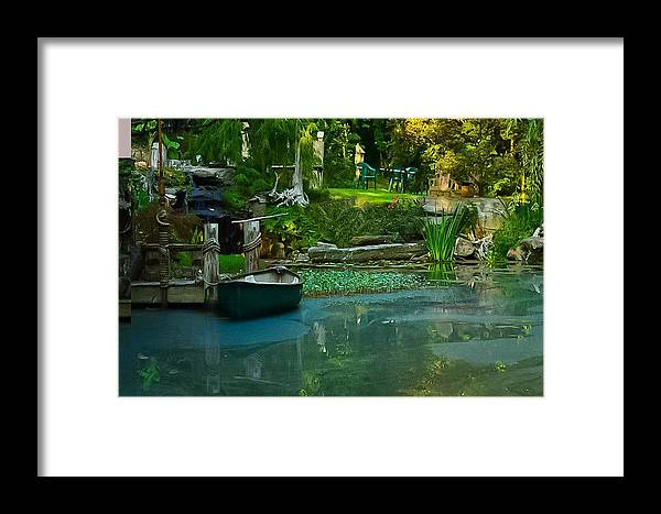 Landscape Framed Print featuring the photograph Back Woods Beauty by De Beall