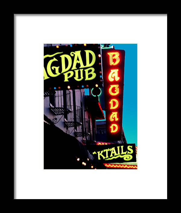 Portland Or Framed Print featuring the photograph Bagdad Pub by Gail Lawnicki