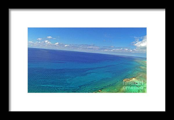 Grand Bahama Framed Print featuring the photograph Bahama Colors by Paola Correa de Albury