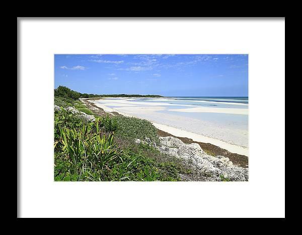 Atlantic Framed Print featuring the photograph Bahia Honda Key by Rudy Umans