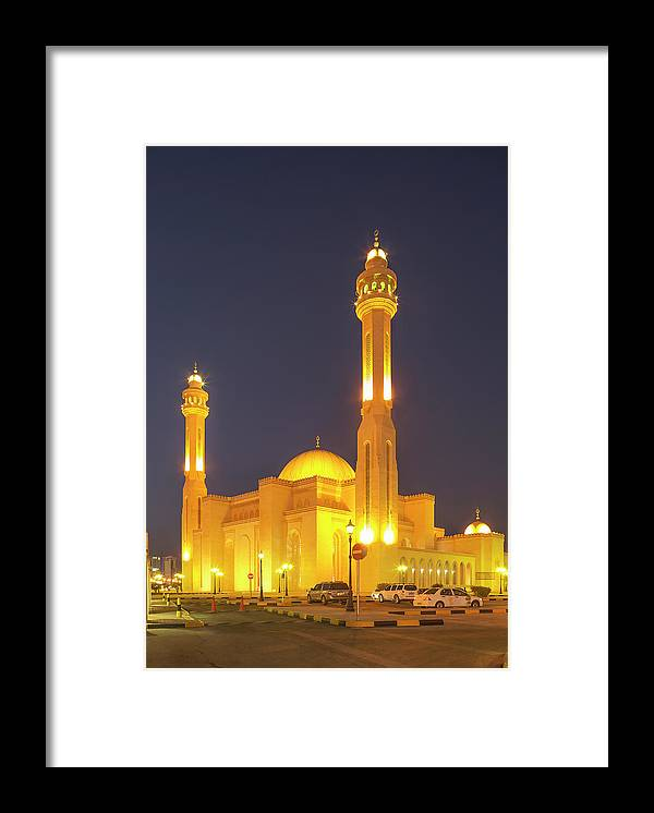 Tranquility Framed Print featuring the photograph Bahrain. Manama. The Al Fateh Grand by Buena Vista Images