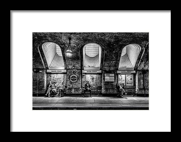 London Framed Print featuring the photograph Baker Street by Marc Pelissier