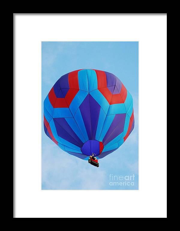 Balloon Framed Print featuring the photograph Ballooning by Joe Cashin