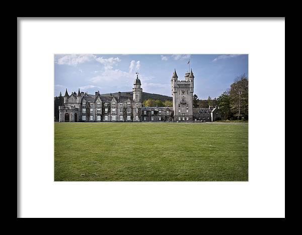 Aberdeenshire Framed Print featuring the photograph Balmoral Castle Scotland by Georgi Djadjarov