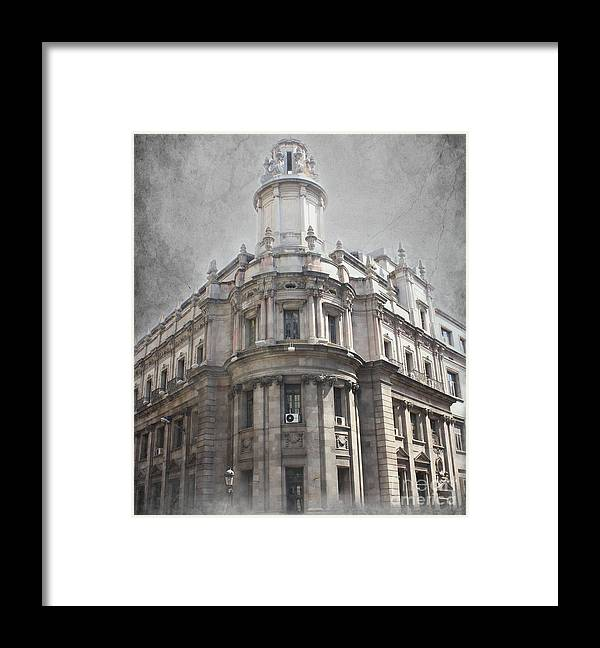Barcelona Framed Print featuring the photograph Barcelona Architecture by Sophie Vigneault