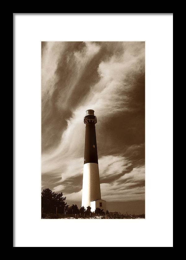 Nj Framed Print featuring the photograph Barnegat Lighthouse by Skip Willits