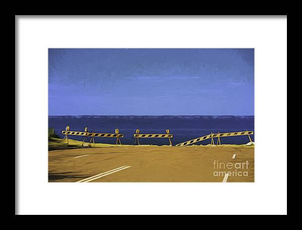 Barriers Framed Print featuring the photograph Barriers by Sheila Smart Fine Art Photography