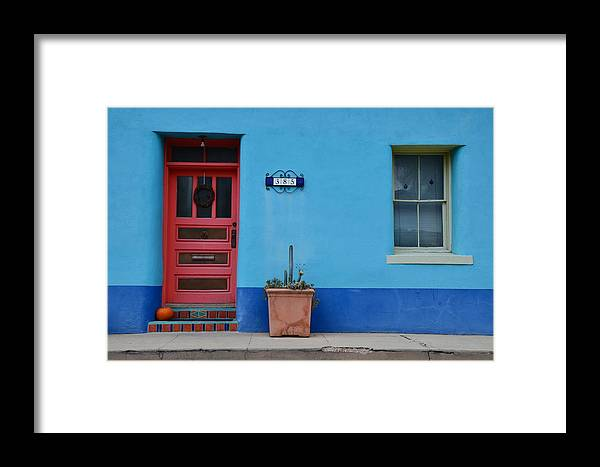Tucson Barrio Framed Print featuring the photograph Barrio #385 by Debbie Yuhas