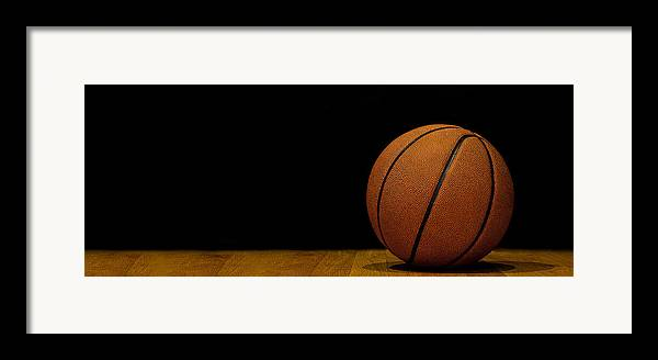 Basketball Framed Print featuring the photograph Basketball Panorama by Andrew Soundarajan