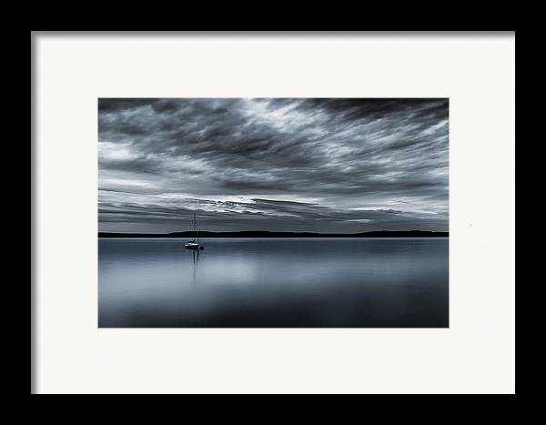 Storm Framed Print featuring the photograph Batten Down The Hatches by Ryan Manuel