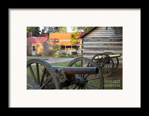 Carter Framed Print featuring the photograph Battle Of Franklin by Brian Jannsen