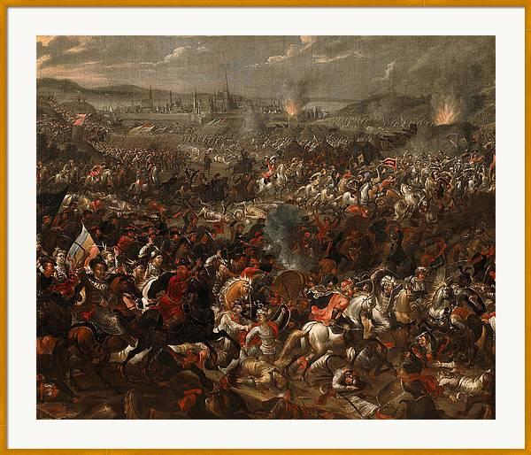 Battle of Vienna by Pauwel Casteels