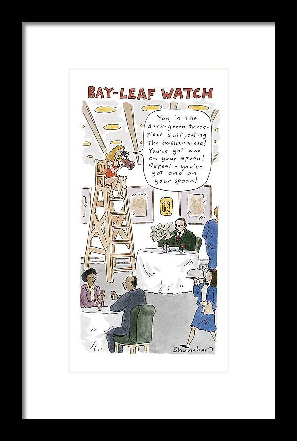 Bay-leaf Watch \'you Framed Print by Danny Shanahan