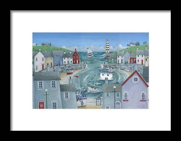 Bay Store Framed Print by Peter Adderley