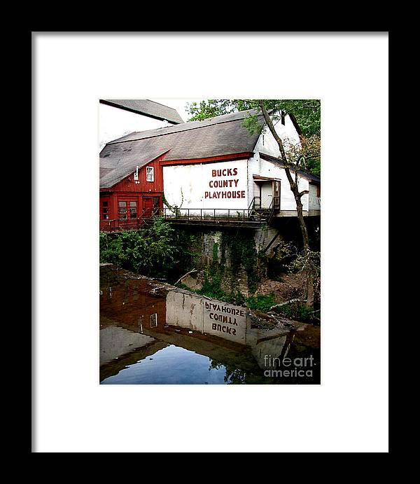 Barns Framed Print featuring the photograph Bc Playhouse by Colleen Kammerer