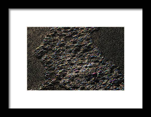 Beach Bubbles Framed Print featuring the photograph Beach Bubbles - 8 Of 8 by Scott Lenhart