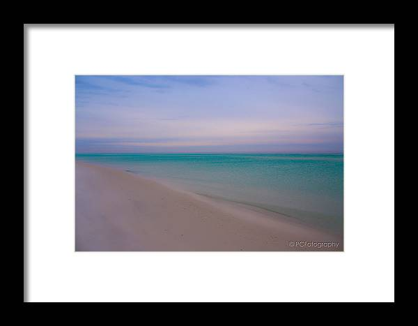 Florida Framed Print featuring the photograph Beach Tranquility by Preston Fiorletta