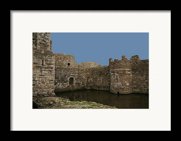 Castles Framed Print featuring the photograph Beamaris Castle by Christopher Rowlands