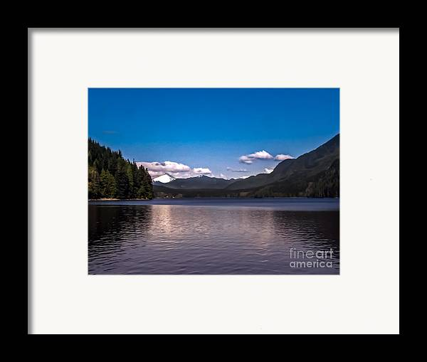 Seacapes Framed Print featuring the photograph Beautiful Bc by Robert Bales