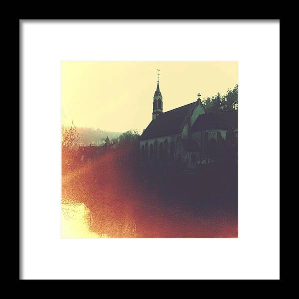 Church Framed Print featuring the photograph Beautiful Church by Matthias Hauser