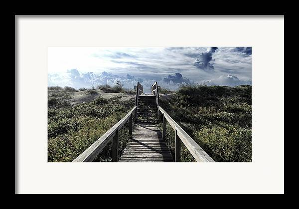 North Carolina Framed Print featuring the photograph Beautiful Day At Cape Hatteras by Patricia Januszkiewicz