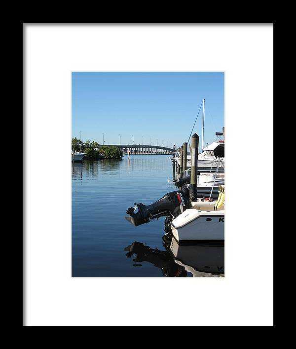 Water Framed Print featuring the photograph Beautiful Day by Christiane Schulze Art And Photography