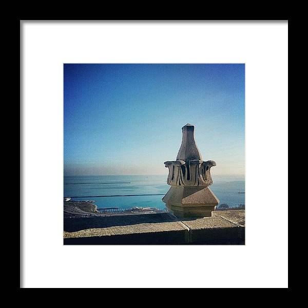 Lake Michigan Framed Print featuring the photograph Beautiful Day by Jill Tuinier